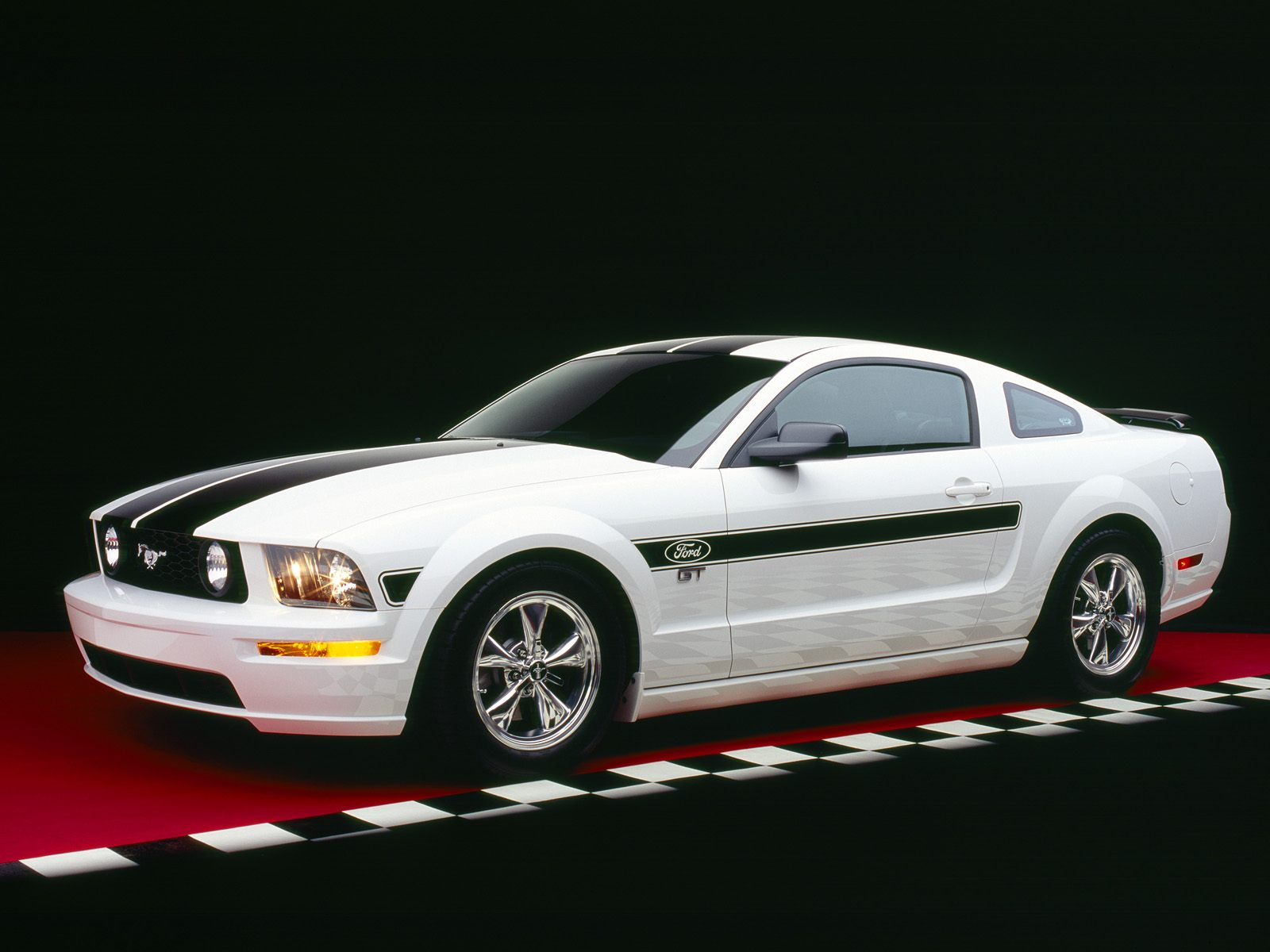 2005 ford mustang wallpaper: