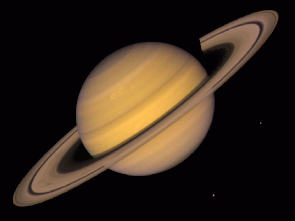 Real Saturn Planet Click